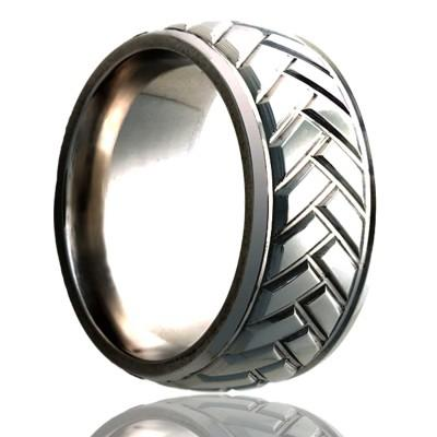 Titanium Tire Tread Ring