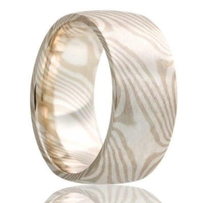Unique Wedding Ring Mokume