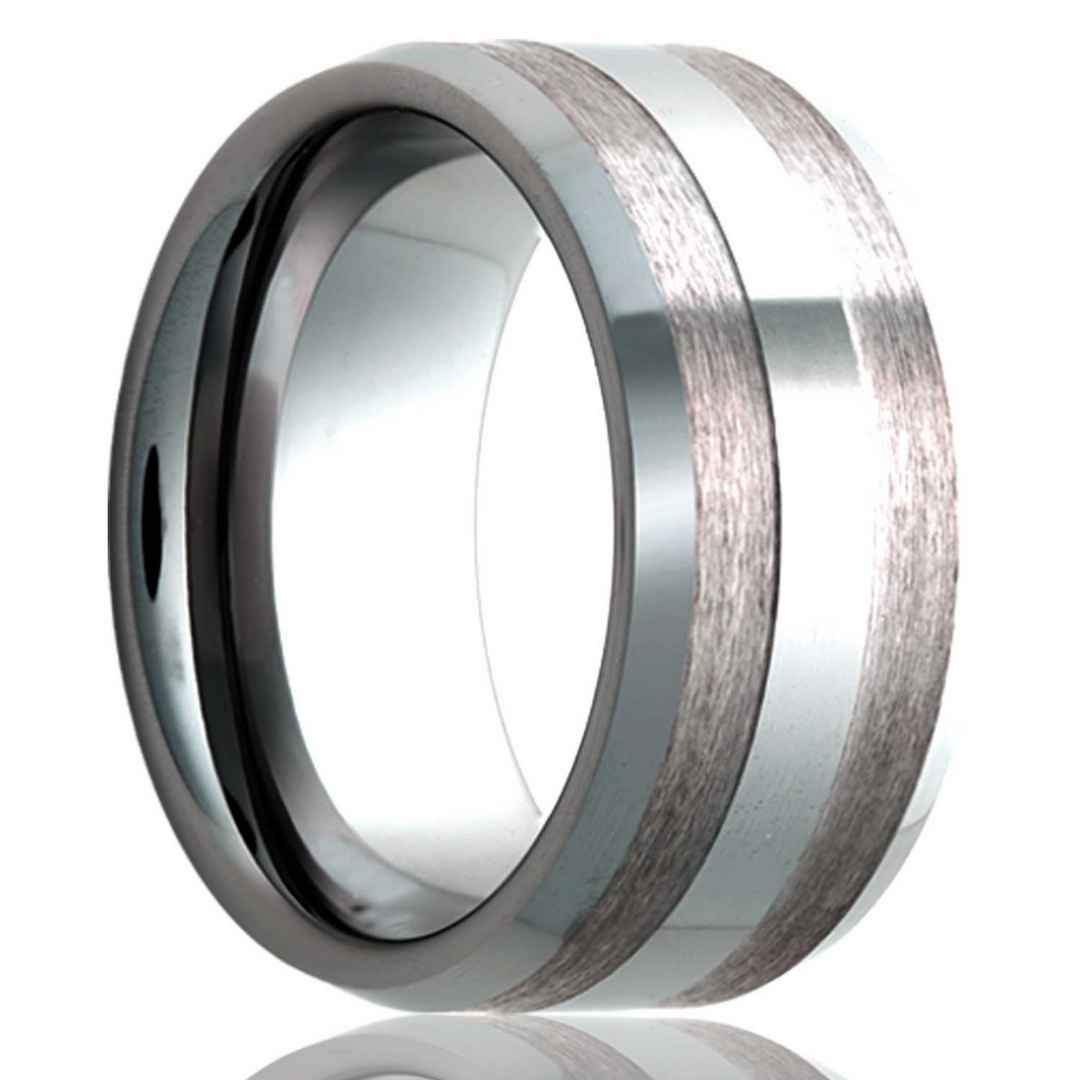 Men's cobalt wedding ring