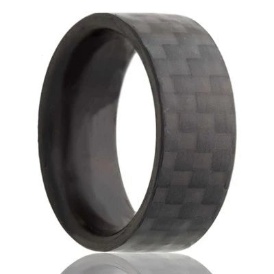 Carbon Fiber Wedding Band