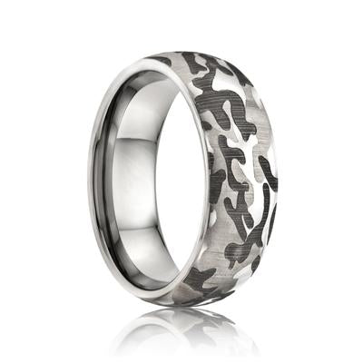 Tungsten Camo Ring
