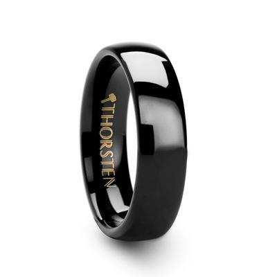 Black Men's Wedding Band