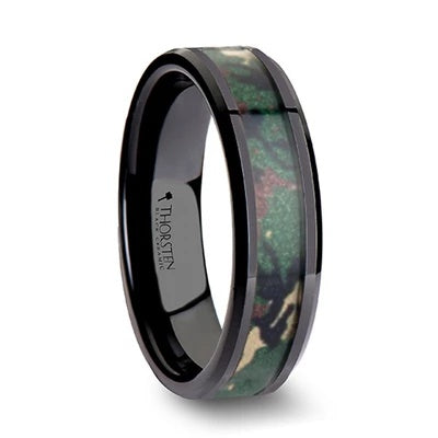 Men's Camo Wedding Ring