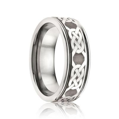 Celtic Wedding Ring Tungsten