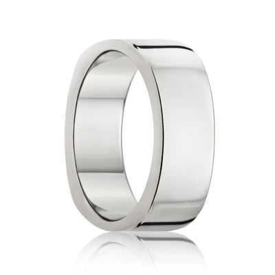 Men's Tungsten Ring Square Shank