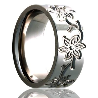 Women's Wedding Ring Titanium