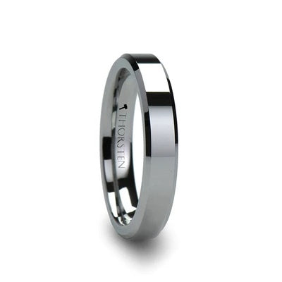FREMONT | Traditional Wedding Ring | Tungsten | 4mm, 6mm, 7mm, 8mm, 10mm & 12mm