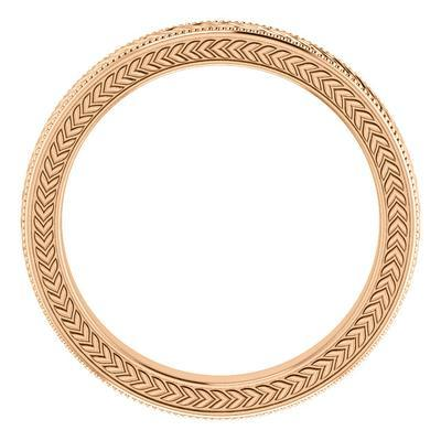 Women's 14k Rose Gold Wedding Ring