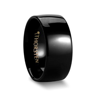 Black Tungsten Ring for Men