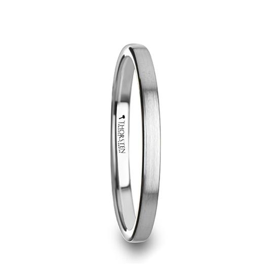 Women's Wedding Ring | Tungsten | Extra Thin | 2mm TCRings