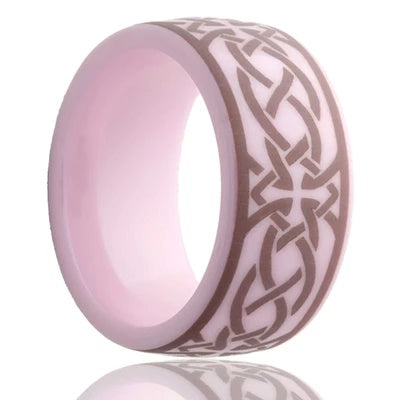 Women's Wedding Band Celtic Pattern