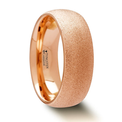 SEDONA | Tungsten Carbide Wedding Ring | Rose Gold Plated | Women's | 2mm, 4mm & 8mm