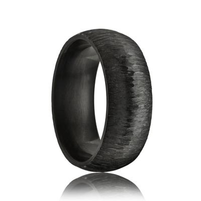 Black Wedding Ring Zirconium