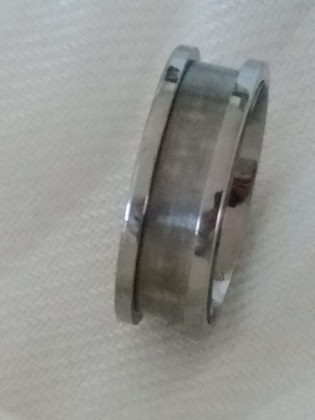 Titanium Wedding Ring Changeable Inserts Twist Tcrings