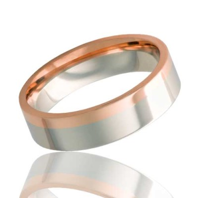 VERONA | 14k Gold Wedding Ring | 6mm, 7mm & 8mm