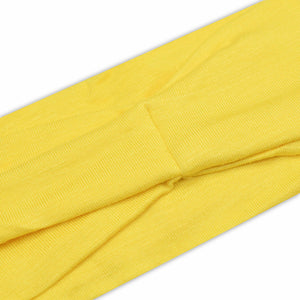 YELLOW (BRIGHT) - Wide Headband