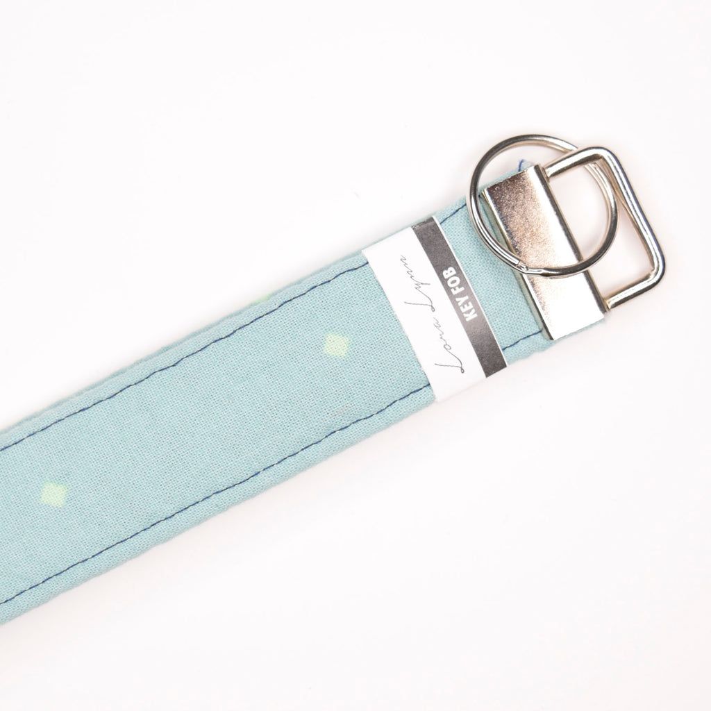 BLUE DIAMONDS 14 Key Fob Wristlet