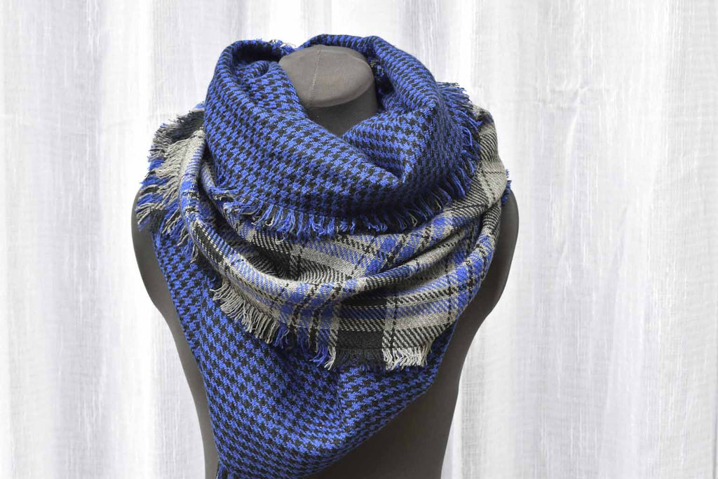 ROYAL DOUBLE-FACED ACRYLIC - Blanket Scarf
