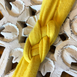 YELLOW - Knotted Headband