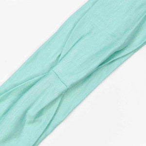 GREEN (SEAFOAM) - Wide Headband
