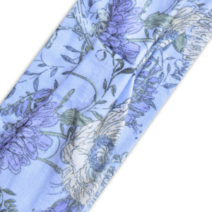 PURPLE (LILAC DELICATE FLORAL) PRINT - Wide Headband