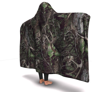 Hunting Hooded Blanket For Hunters (Green)