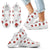 Ladybugs & Flowers Kid's & Women's Sneakers