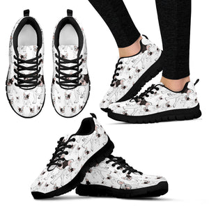 French Bulldog Frenchie - Shoes - Women's Sneakers