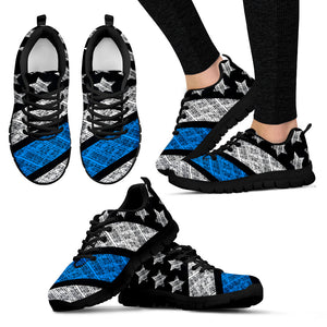Blue Lives Matter Police - Shoes - Women's Sneakers