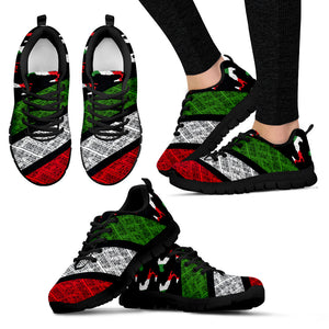 Italian Pride - Shoes - Black Women's Sneakers