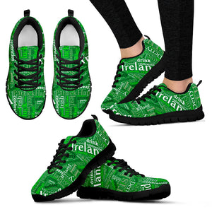 Irish Ireland - Shoes - Black Women's Sneakers