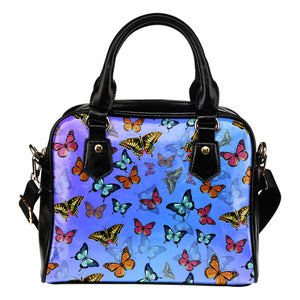 Colorful Butterfly Shoulder Handbag - Freedom Look