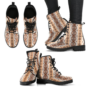Native American Handcrafted Women's Vegan-Friendly Leather Boots