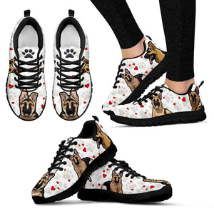 German Shepherd Dog - Shoes - Women's Sneakers