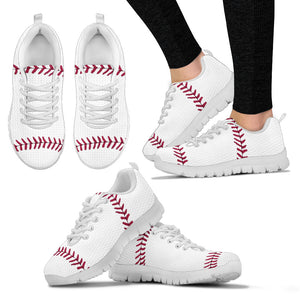 Women's Shoes - Baseball Sneakers