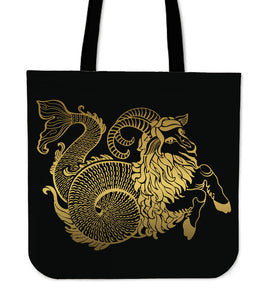 Capricorn Zodiac Star Sign Tote Bag - Freedom Look