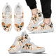 Corgi Dog Shoes - Men's Sneakers - Christmas Birthday Gift