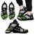 Marine Green Thin Line - Shoes - Black Men's Sneakers