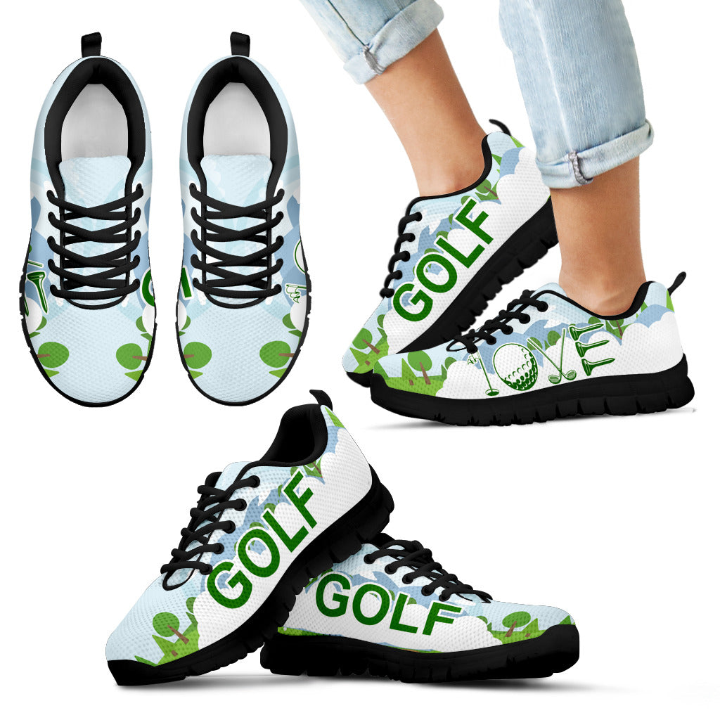 Golf Sport - Shoes - Kid's Sneakers - Christmas Birthday Gift