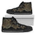 Golden Sea Turtle Women's High Top Shoes - Freedom Look