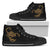 Golden Scorpio (Scorpion) High Top Shoes - Freedom Look