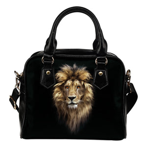 Lion Head Shoulder Handbag