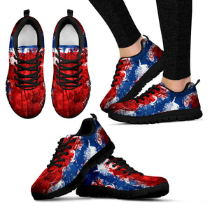 Norway Flag - Shoes - Women's Sneakers