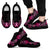 Breast Cancer Awareness - Shoes - Black Men's Sneakers
