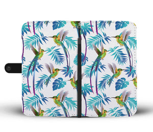 Hummingbird Phone Wallet Case - Freedom Look