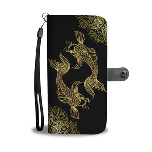 Pisces Zodiac Phone Case + Wallet