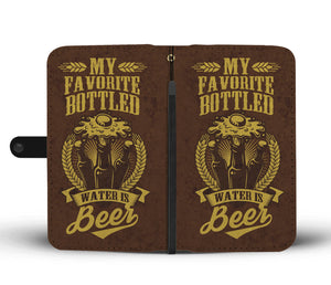 Beer Is My Favorite Phone Wallet Case - Freedom Look