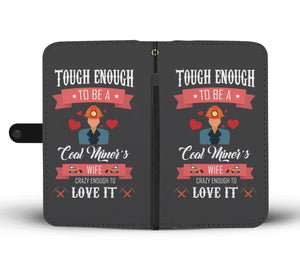 Coal Miner's Wife Phone Wallet Case - Freedom Look