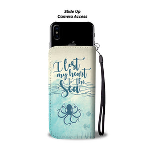 I Lost My Heart To The Sea Octopus Phone Case