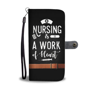 Nursin Is A Work Of Heart Nurse Phone Case